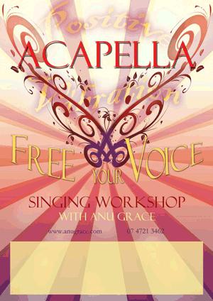 Free Your Voice Anu Grace